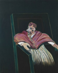 study for a pope iii by francis bacon