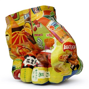 in junk food no 3 by liu bolin