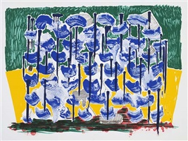 slow forest by david hockney