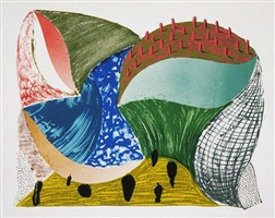 gorge d'incre by david hockney