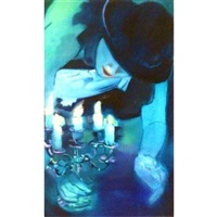 kind of blue (small) by monica serra