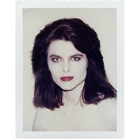 maria shriver by andy warhol
