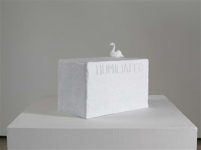 humiliated swan by tracey emin