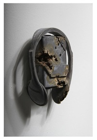 steel eroded original walkman by daniel arsham