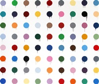 hirst dots by mr. brainwash