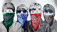 banditos by mr. brainwash