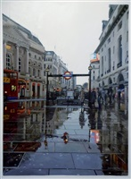 piccadilly circus by jonathan stewardson