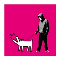 choose your weapon (magenta) by banksy