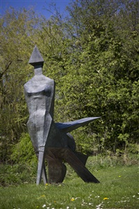 walking woman by lynn chadwick