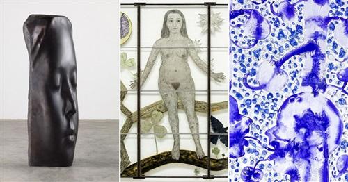 group exhibition jaume plensa kiki smith barthélémy toguo trio