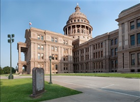 following the ten commandments: texas state capitol, austin, texas by andrea robbins and max becher