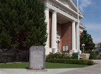 following the ten commandments: lyon county courthouse, yerington, nevada by andrea robbins and max becher