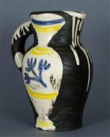 pichet au vase by pablo picasso