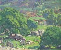 nature smiles by william wendt