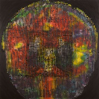 bird, brain, black (iii) by ross bleckner