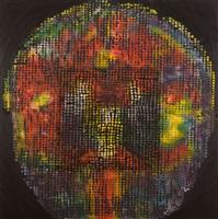 bird, brain, black (iii) by ross bleckner