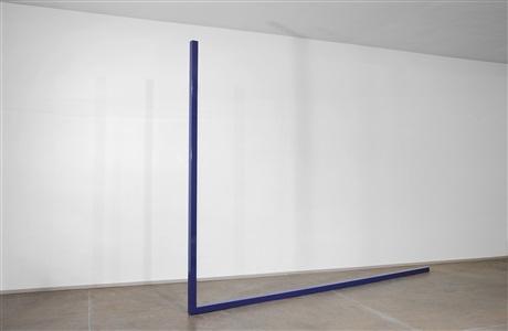 blue-purple big l by gianni piacentino