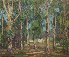 eucalyptus, laguna by william wendt