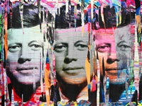 jfk by mr. brainwash
