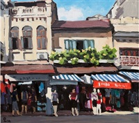 hang dao street by pham luan