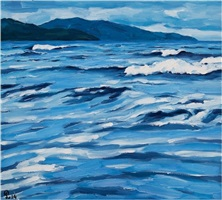 rough sea by pham luan