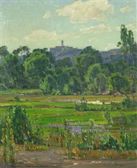 the mansion by william wendt
