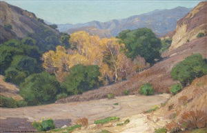 laguna canyon by william wendt
