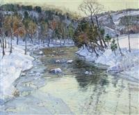 winter landscape by george gardner symons