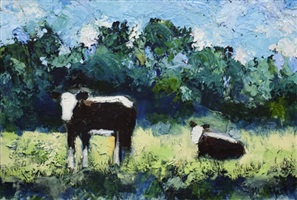 deer creek herefords #4 by theodore waddell