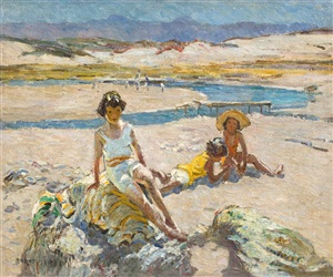 on the shore by dorothea sharp