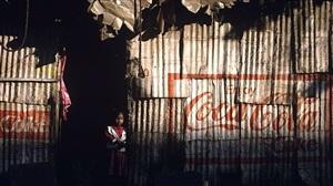 girl in doorway, mumbai by joe mcnally