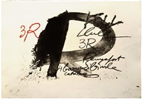tres r by antoni tàpies