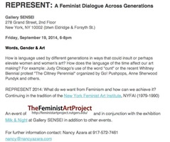 present: a feminist dialogue across generations