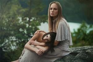untitled; olya & zuzanna by yigal ozeri