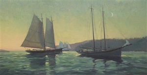 moonlit rendezvous by leonard mizerek