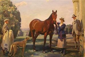 poethlyn by sir alfred munnings