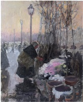 the flower seller by sir alfred munnings