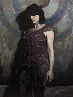 violet dress by hollis dunlap