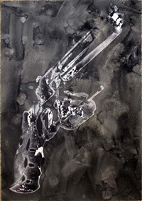 guns by robert longo