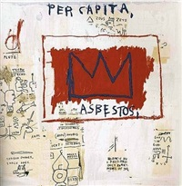 untitled (per capita) by jean-michel basquiat