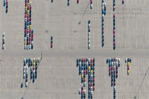gm main auto yard #1 by louis helbig