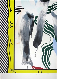 against apartheid by roy lichtenstein