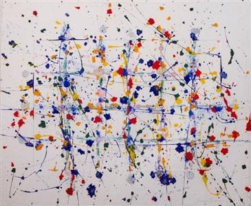 larsen art auction by sam francis