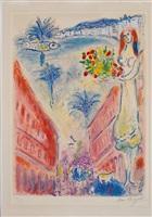 avenue de la victorie by marc chagall