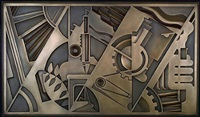 peace through chemistry bronze by roy lichtenstein
