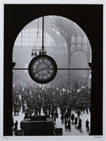 farewell of service men, penn station ny by alfred eisenstaedt