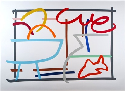 larsen art auction by tom wesselmann