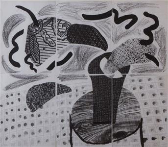 larsen art auction by david hockney