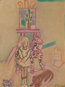 larsen art auction by françoise gilot