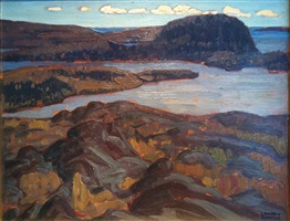 from the north shore of lake superior by lawren stewart harris